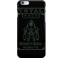 Total Hack - Pip Boy Edition Green iPhone Case/Skin