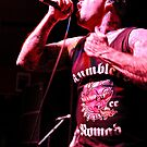 Roger Miret of Agnostic Front by HoskingInd