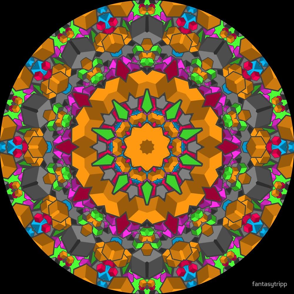 Color Blocks Kaleidoscope 01 by fantasytripp