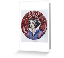 - Snow white - Greeting Card