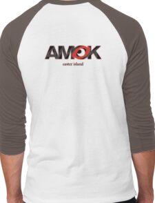 AMOK - easter island Men's Baseball ¾ T-Shirt