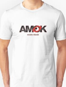 AMOK - society islands Unisex T-Shirt