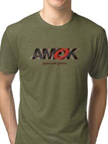AMOK - papua new guinea Tri-blend T-Shirt