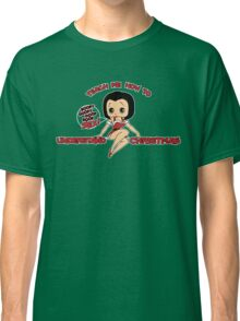 Annie: Teach Me How To Understand Christmas (Variant) Classic T-Shirt