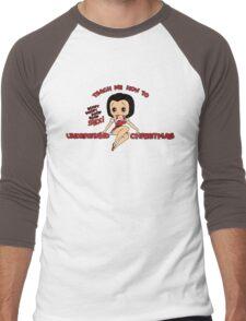 Annie: Teach Me How To Understand Christmas (Variant) Men's Baseball ¾ T-Shirt