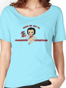 Annie: Teach Me How To Understand Christmas (Variant) Women's Relaxed Fit T-Shirt