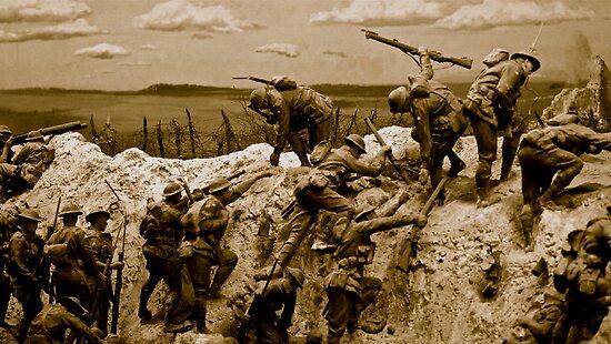 War Memorial by Matt Hill