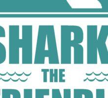 Eddie Izzard - Sharky the Friendly Shark Sticker