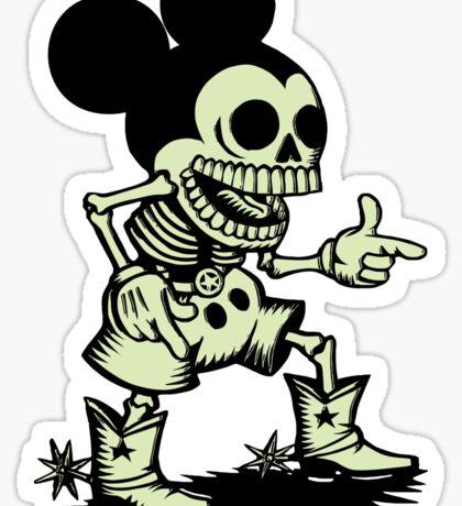 Skull mouse Sticker