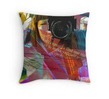 Self Portrait #2 Throw Pillow
