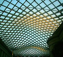 The Ceiling Of A Courtyard by Cora Wandel
