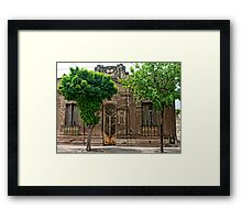 OLD COLONIAL 2 Framed Print