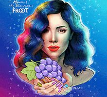 Marina and the diamonds sticker by Frootts