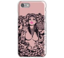 Swagg Tattoo Girl iPhone Case/Skin