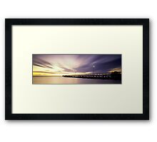 Wellington Point Jetty   Framed Print