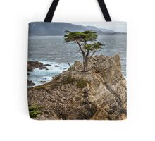 A Cypress Tree Vertical  Tote Bag