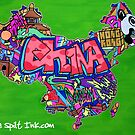 CHINA by thespiltink