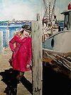 Hanging Around the Docks by Jim Phillips