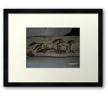 yellow virio Framed Print