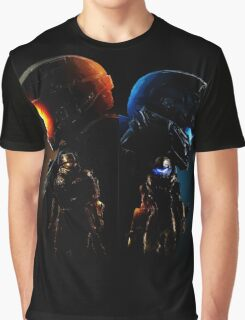 Halo Guardian Forces Graphic T-Shirt