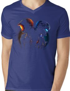 Halo Guardian Forces Mens V-Neck T-Shirt
