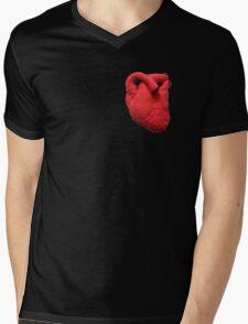 Anatomical heart  Mens V-Neck T-Shirt