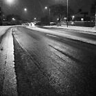 Black and White Icy Road by scotts03