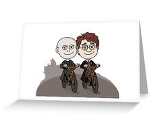 Voldemort & Harry Greeting Card