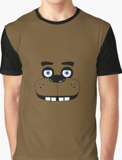 Simplistic Freddy Graphic T-Shirt