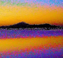 Abstract Beach by designed2dazzle