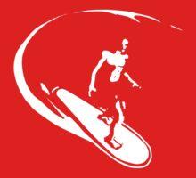 surfer t-shirt Baby Tee