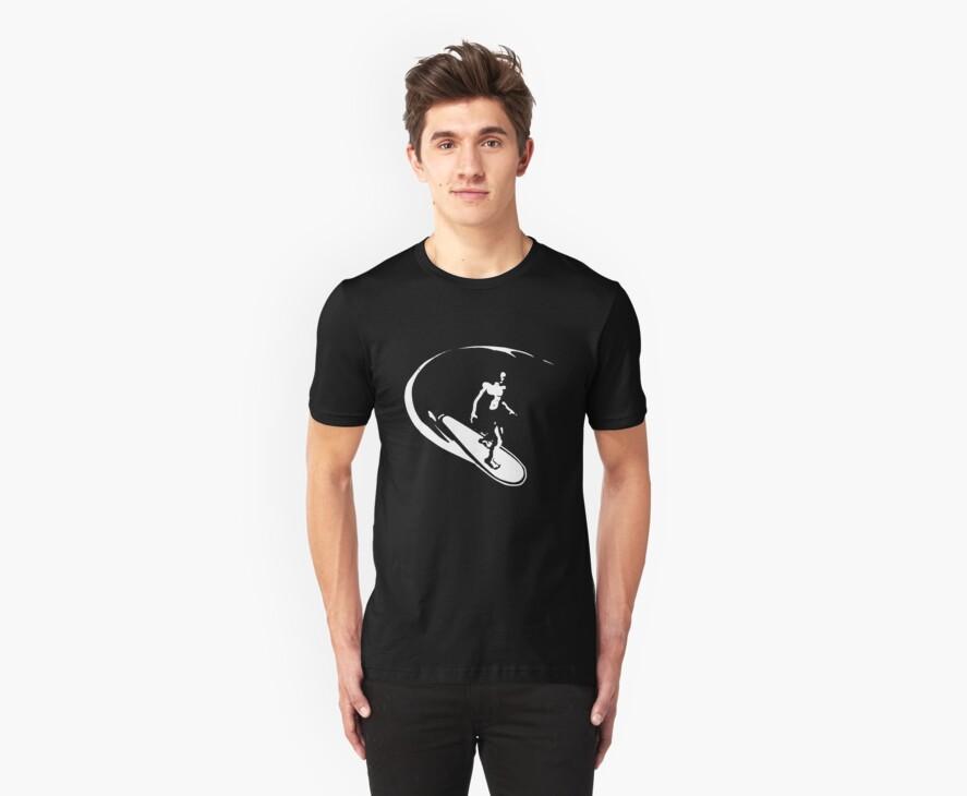 surfer t-shirt by parko