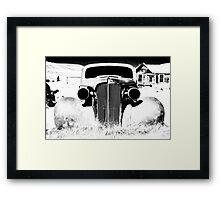 Gangsta Car Framed Print