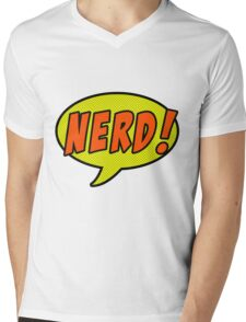 Nerd! Mens V-Neck T-Shirt