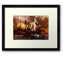 The Lost Armada Framed Print