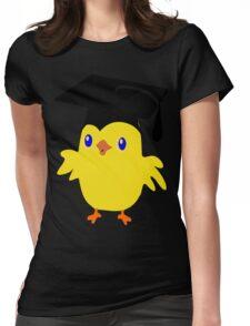 ღ°ټGorgeous Blue Eyed Nerd Chick on a Graduation Cap Clothing& Stickersټღ° Womens Fitted T-Shirt