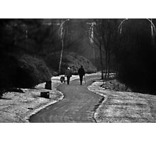 Walking the Dog Photographic Print
