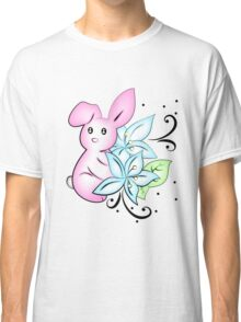 Bunny Rabbit with Lilly Classic T-Shirt