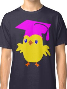 ღ°ټGorgeous Blue Eyed Nerd Chick on a Graduation Cap Clothing& Stickersټღ° Classic T-Shirt