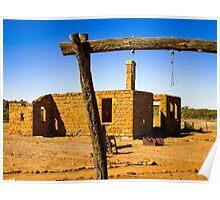 Milparinka, outback NSW near Tibooburra Poster