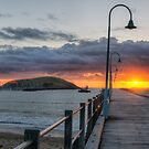 Another Jetty Sunrise by Jason Ruth