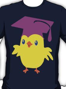ღ°ټGorgeous Blue Eyed Nerd Chick on a Graduation Cap Clothing& Stickersټღ° T-Shirt