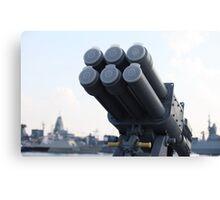 naval missile  Canvas Print