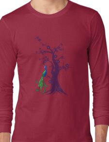peacock blossoms Long Sleeve T-Shirt