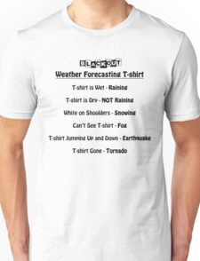 Weather Forecast Unisex T-Shirt