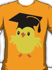 ღ°ټAdorable Nerd Chick on a Graduation Cap Clothing& Stickersټღ° T-Shirt