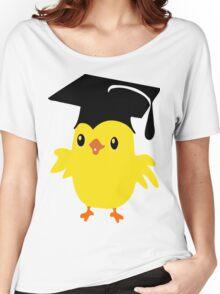 ღ°ټAdorable Nerd Chick on a Graduation Cap Clothing& Stickersټღ° Women's Relaxed Fit T-Shirt