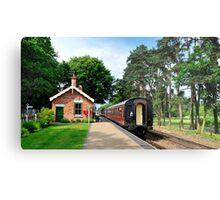 Holt Station Norfolk Metal Print