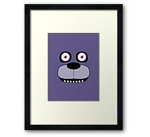 Simplistic Bonnie Framed Print