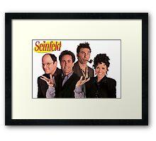 Seinfeld Cast Framed Print